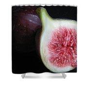 Kitchen - Garden - Forbidden Fruit Shower Curtain