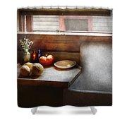 Kitchen - Sink - Farm Kitchen  Shower Curtain