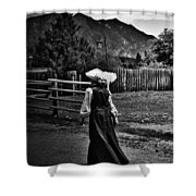 Kitchen Curtsy  Shower Curtain