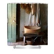 Kitchen Door In Old House Shower Curtain