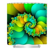Kitchen Garden Shower Curtain