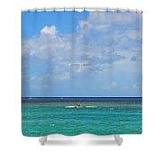 Kitesurfing In Kauai II Shower Curtain