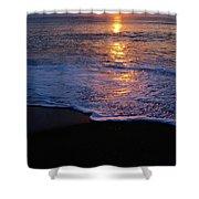 Kitty Hawk Beach At Sunset Shower Curtain