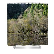 Klamath Pond Shower Curtain