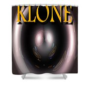 Klone Book Cover Shower Curtain