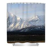 Kluane National Park, Yukon Shower Curtain