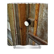 Knock At The Door Shower Curtain