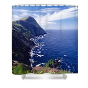 Knockmore Mountain, Clare Island Shower Curtain