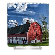 Knox Barn 13829c Shower Curtain