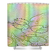 Koi Rainbow Shower Curtain