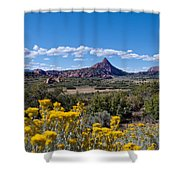 Kolob Terrace Afternoon Shower Curtain