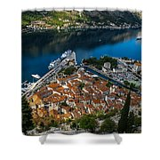 Kotor Montenegro Shower Curtain