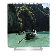 Krabi Island Thailand Shower Curtain
