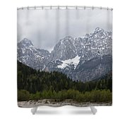 Kranjska Gora Shower Curtain