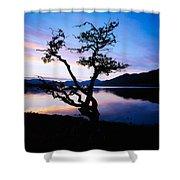 Kylemore Lake, Connemara, Co Galway Shower Curtain