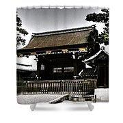 Kyoto Gosho Shower Curtain