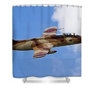 L-29 Delphin Shower Curtain