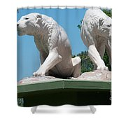 La Brea Tar Pits Shower Curtain