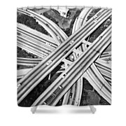 La Freeway Interchange Shower Curtain