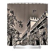 La Lonja De La Seda - Valencia Shower Curtain