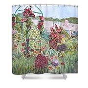 La Maison Et Le Jardin De Monet Shower Curtain