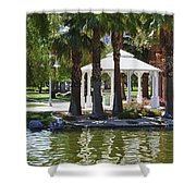 La Quinta Park Summer Shower Curtain
