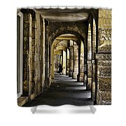 La Rochelle Sidewalk Shower Curtain