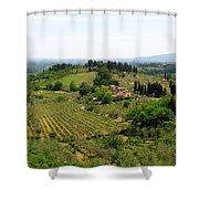 La Toscana Shower Curtain
