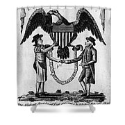 Labor Certificate, 1795 Shower Curtain