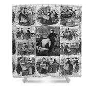 Labor: Women, 1868 Shower Curtain