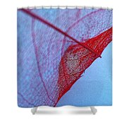 Lace Leaf 3 Shower Curtain