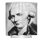 Laclos (1741-1803) Shower Curtain