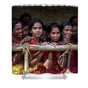 Ladies In Waiting Shower Curtain