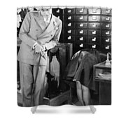 Ladies Must Dress, 1927 Shower Curtain