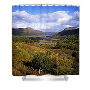 Ladies View, Killarney, Co Kerry Shower Curtain