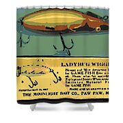 Lady Bug Wiggler Shower Curtain