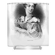 Lady Caroline Lamb Shower Curtain