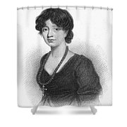 Lady Charlotte Mary Scott Shower Curtain by Granger