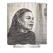 Lady Day Shower Curtain
