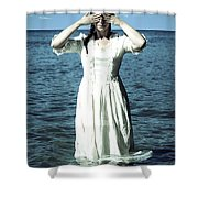 Lady In Water Shower Curtain