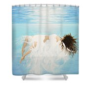 Lady Of The Water Shower Curtain