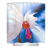 Lady Orchid Shower Curtain