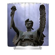 Lady Victory Shower Curtain