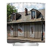Lafittes Blacksmith Shop Bar New Orleans Shower Curtain
