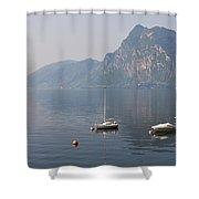 Lago Di Lugano Shower Curtain