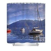 Lago Maggiore Shower Curtain
