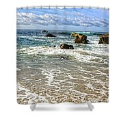 Laguna Beach Coast Shower Curtain