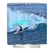 Laguna Surfer Shower Curtain