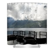 Lake After The Storm Shower Curtain