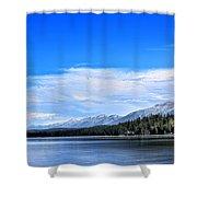Lake Alva Shower Curtain